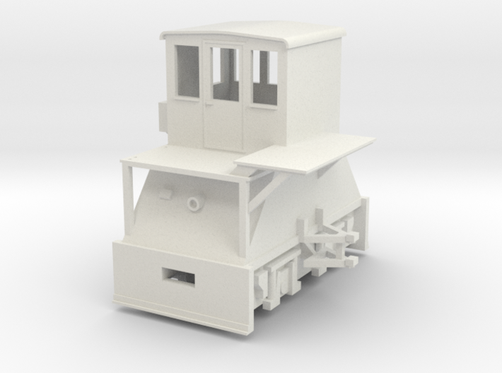 H0-scale Coker (LEFT-hand version) 3d printed