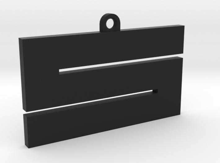 'S' keychain (5.5cm) 3d printed