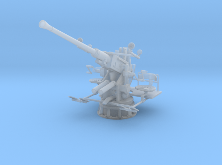 1/30 USN Single 40mm Bofors Elevated 3d printed