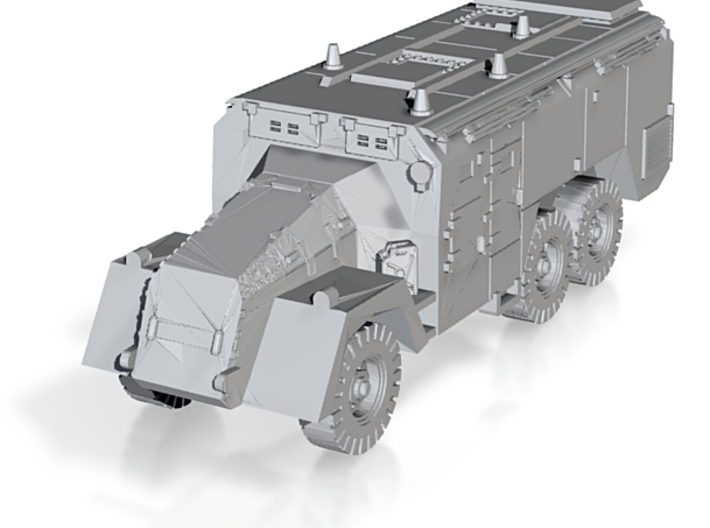 Armoured Command Vehicle AEC 1/285 6mm scale 3d printed