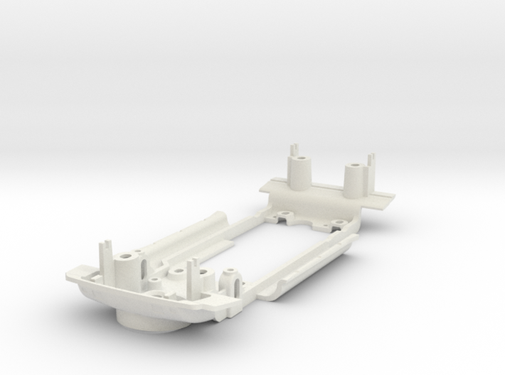 S04-ST1 Chassis for Scalextric Audi Sport Quattro  3d printed