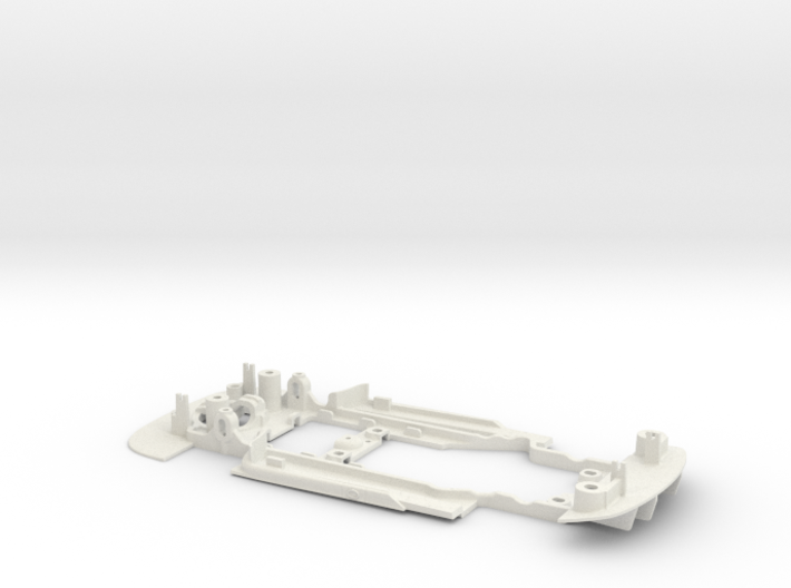 S06-ST3 Chassis for Scalextric Bentley GT3 SSD/LMP 3d printed