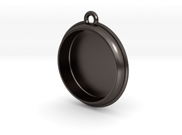 Pocket Watch For FitUp Clock Insert 1 7/16in 3d printed  Stainless Steel