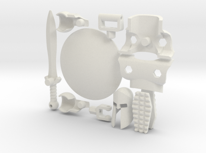 Spartan Accessory Kit for ModiBot 3d printed Spartan Accessory Kit Spartan Accessory Kit for ModiBot