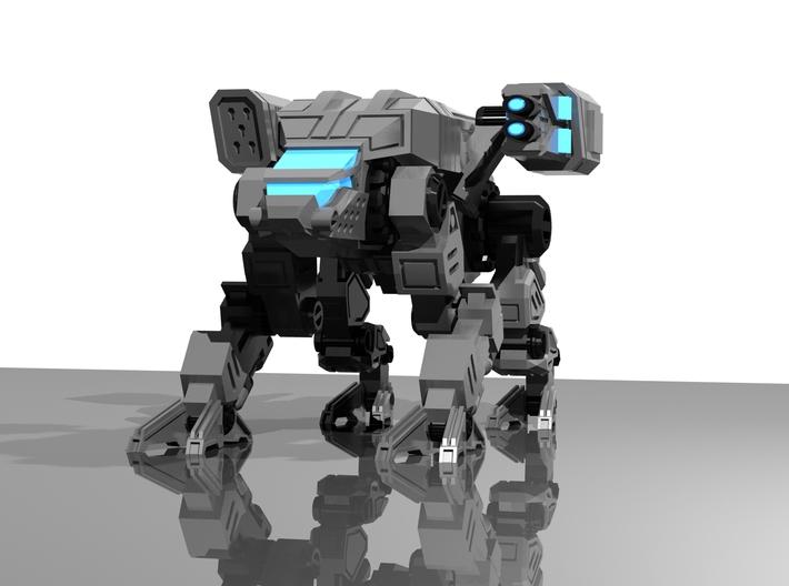 CQ-SRA-0 Prime (scaled) 3d printed