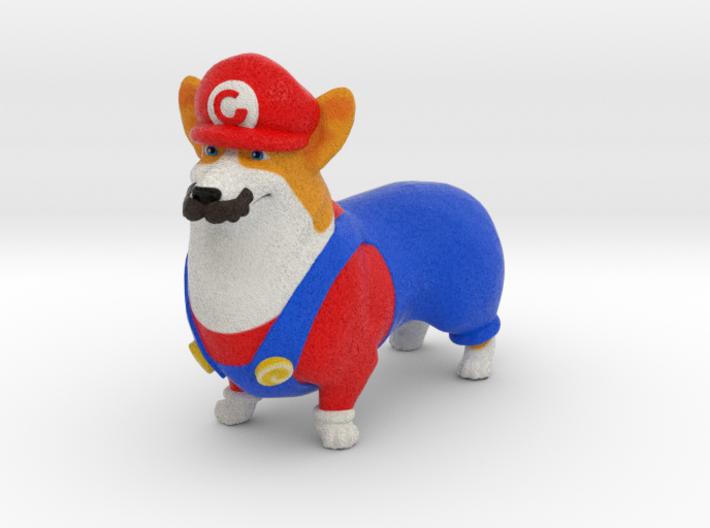 Super Corgio (Mario Corgi)  3d printed