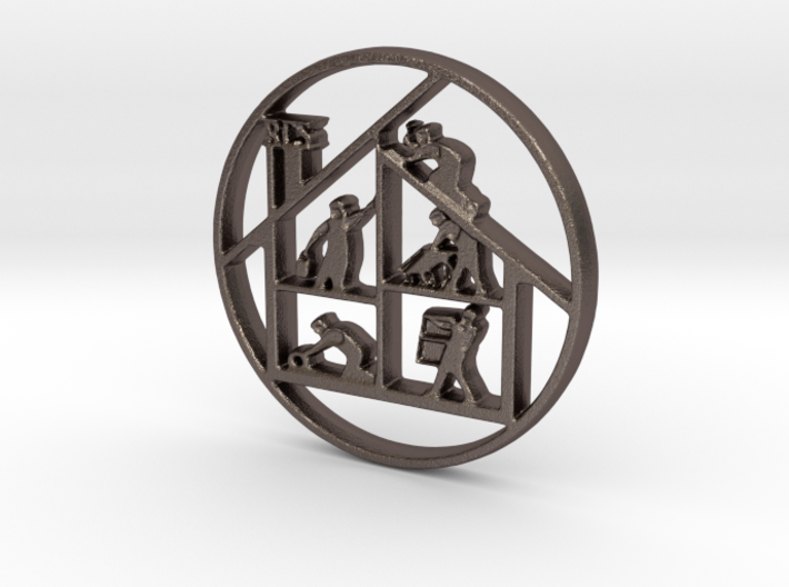 RCS Logo - Ring of Fire 3d printed