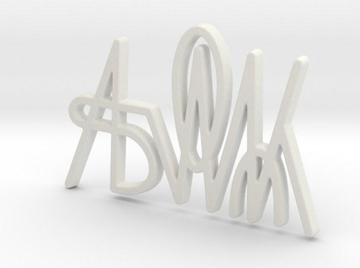 Ask Me Out 3d printed