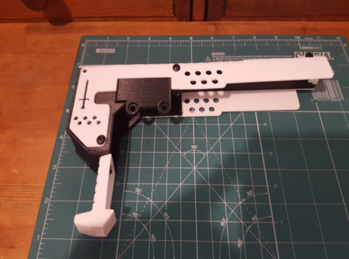 Gladius V1 Main (part 2 of 5) 3d printed Assembled