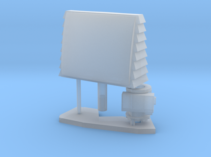 1:96 scale SPQ-9B radar 3d printed