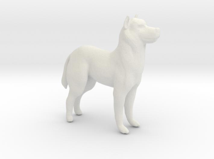 Printle Thing Dog 01 1/24 3d printed