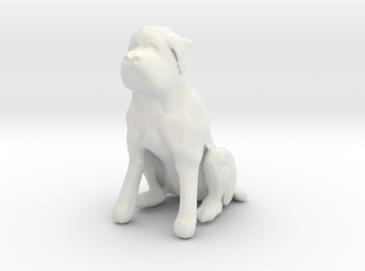 Printle Thing Dog 02 1/24 3d printed