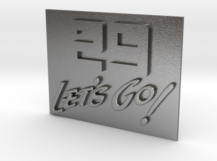 29 Let's Go! A 29th Infantry Division motto 3d printed