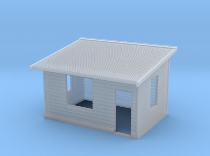 N Scale NSWR Platform Level Signal Box - RH Door 3d printed
