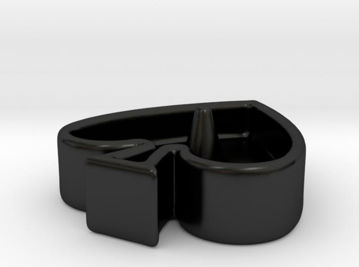 QoS Ring Dish 3d printed