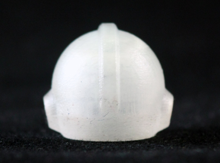 Mega Helmet 3d printed Frosted Ultra Detail