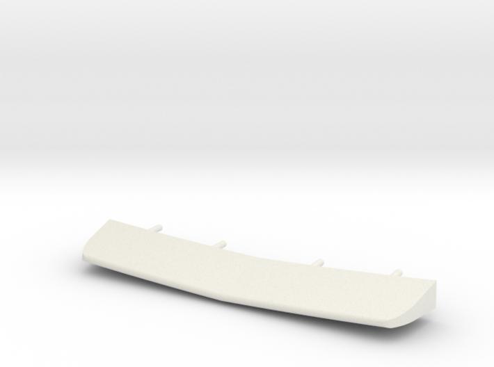 1/72 scale Burke Stern Flap 3d printed