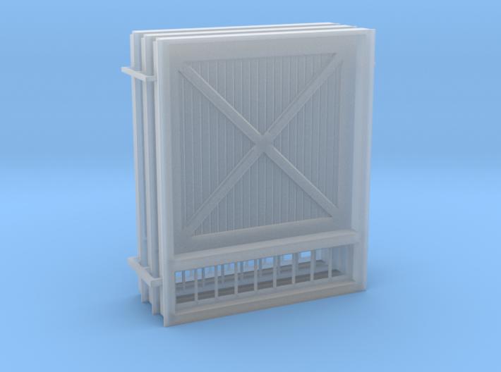 1-64 Freight Door Sprue 3d printed