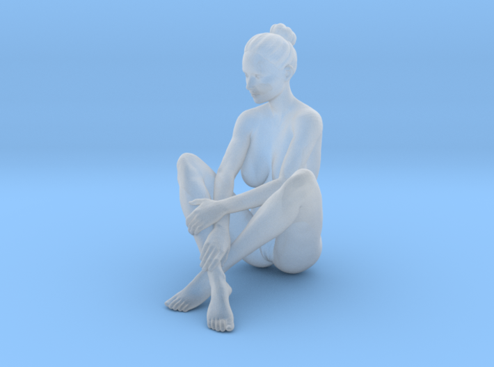Mini Sexy Woman 005 1/64 3d printed