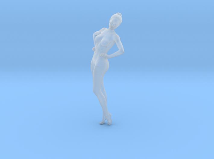 Mini Sexy Woman 037 1/64 3d printed