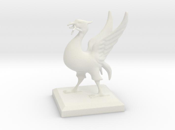 Liverbird 10cm 3d printed