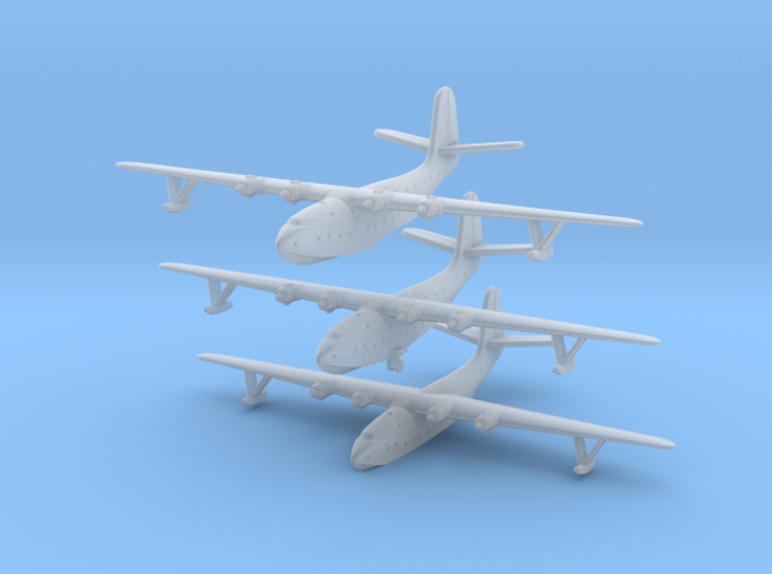 Martin JRM1 Mars Set of Three in 1/1250 & 1/1200th 3d printed