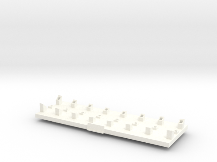Arkona, Display Stand (1:400, RC) 3d printed shapeways render