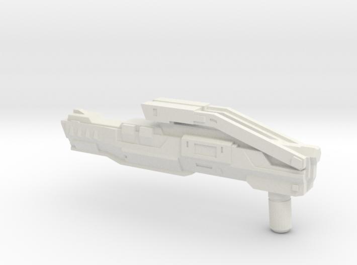 """KAZ-12"" Transformers Weapon (5mm post) 3d printed"