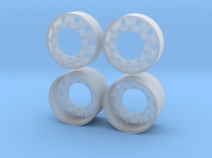 "1/25 22,5"" Alcoa-style Rims 3d printed"