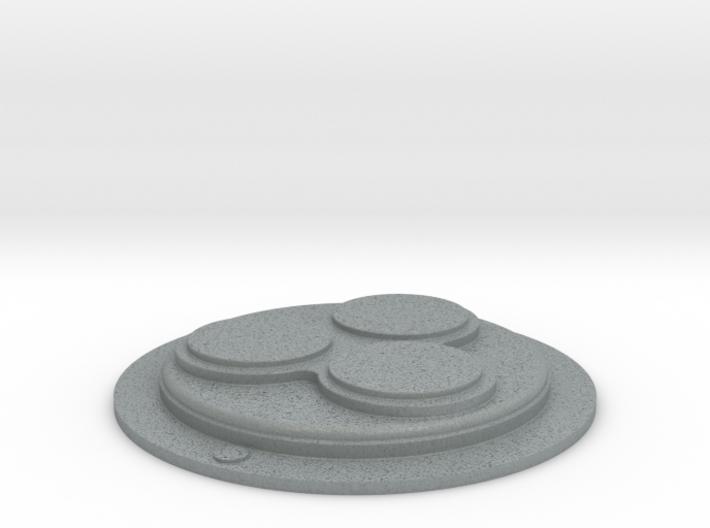 Snowtrooper Abdomen Disk 3d printed
