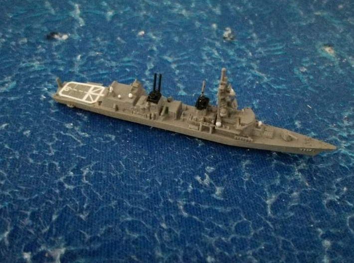 1/2000 JS Takanami-class destroyer 3d printed painted and decal