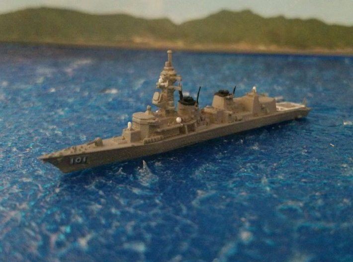 1/2000 JS Murasame-class destroyer 3d printed painted and decal