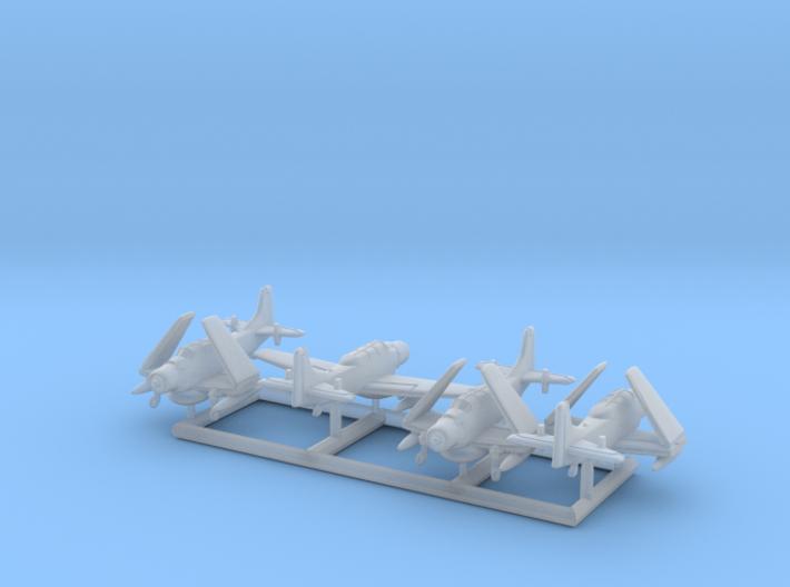 AD-5W/A-1E w/gear x4 (FUD) 3d printed