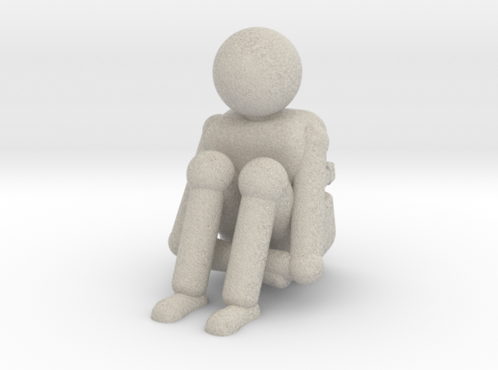 lonely 3d printed