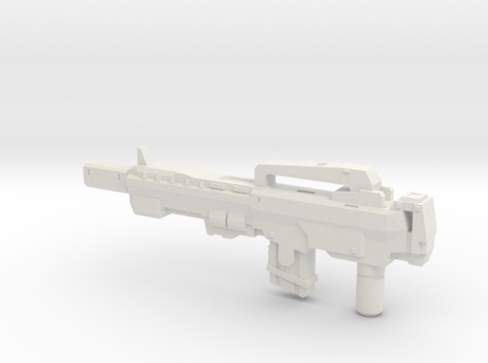 """AMP-16"" Transformers Weapon (5mm post) 3d printed"