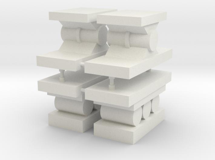 Brückenwiderlager 3d printed