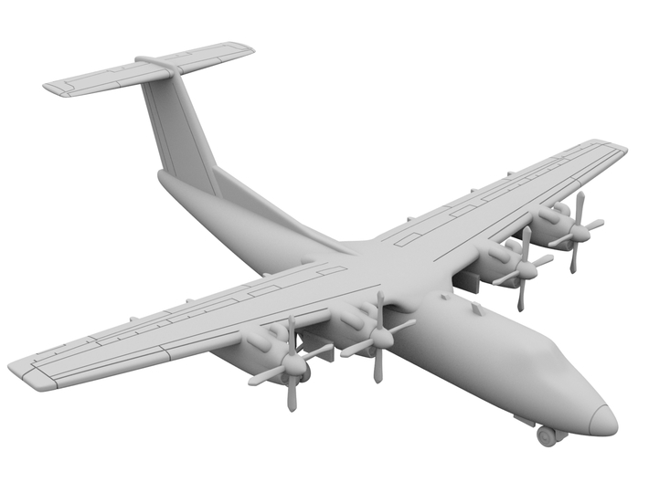 1:700_DHC7 [x2][A] 3d printed