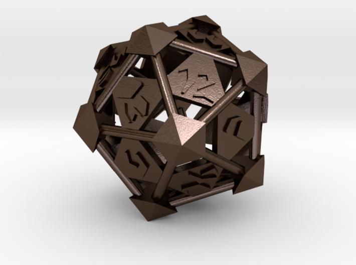 Prism D20 3d printed