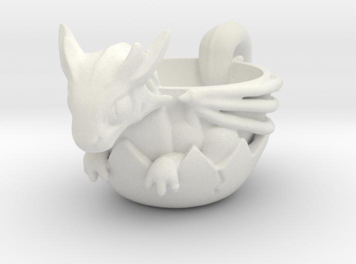 DragonCup 3d printed