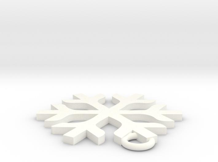 雪.stl 3d printed