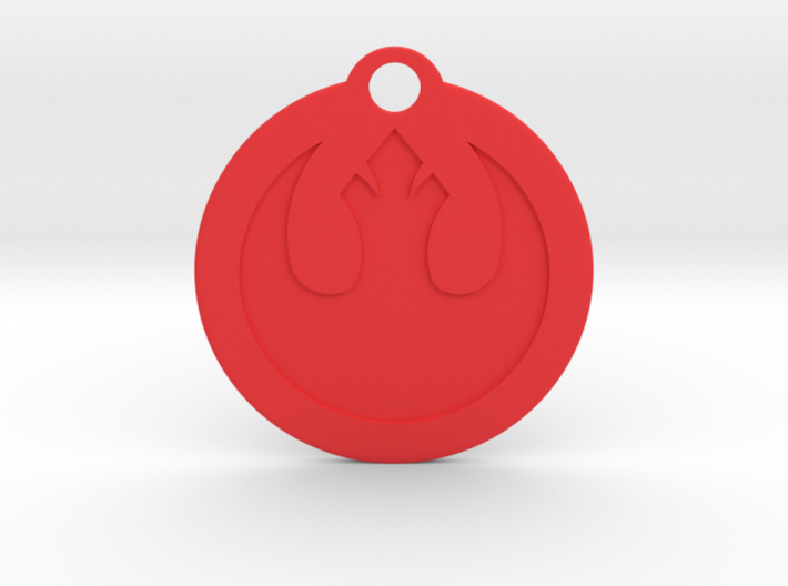 Star Wars Keychain - Rebel Alliance 3d printed