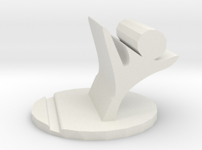 figthing phone stand 3d printed