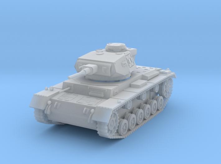 PV156B Pzkw IIIG Medium Tank (1/100) 3d printed