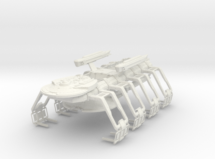 Fed Repair Cutter Ship Yard With A It In It For R 3d printed