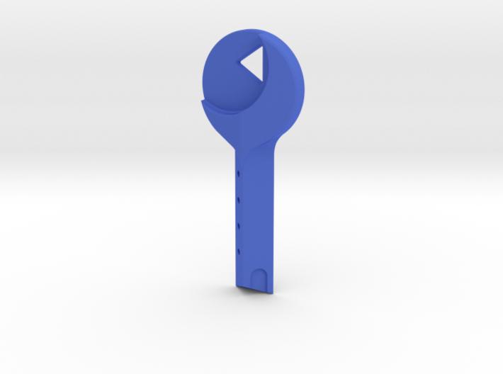 Mulholland Drive - Blue Key 3d printed