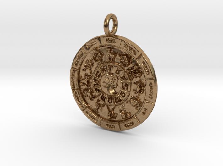 Zodiac 12 Pendant 3d printed