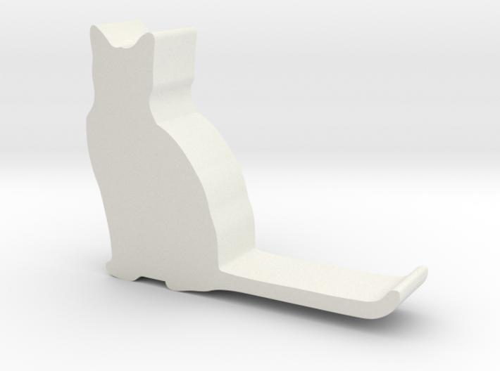Cat hook 3 3d printed