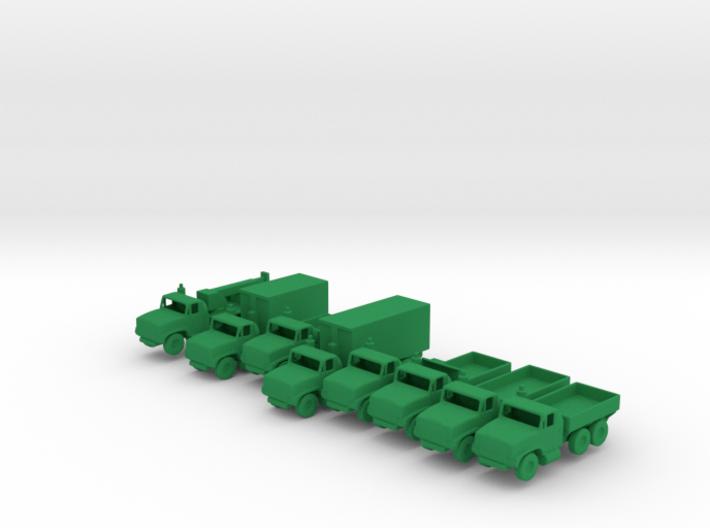 1/200 Scale Oshkosh MTVR Truck Set Of 8 3d printed