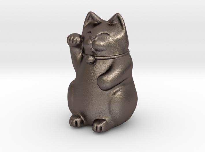 Maneki Neko Sculpture 3d printed