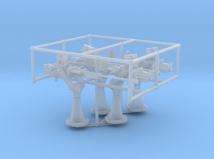 1/72 IJN Type 96 25mm Single set 4 units 3d printed